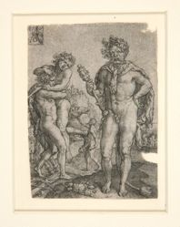 Hercules Squeezing Anthaeus to Death, from the series The Labors of Hercules