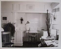 Studio desk in livingroom Longmont, Colorado