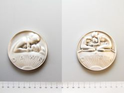 Bronze medal from the Society of Medalists 98th issue, 1978