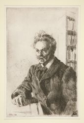 Portrait of August Strindberg