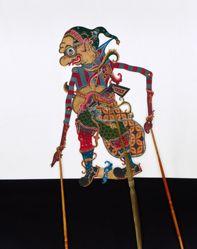 Shadow Puppet (Wayang Kulit) of Gareng
