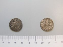 Silver penny of William I from Southwark (Aedoulf)