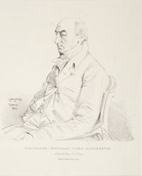 Portrait of Baron Sylvester Douglas Glenbervie