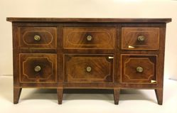 Miniature sideboard or chest of drawers