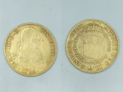 Coin of Charles IV (Spanish king, 1788-1808)