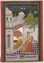 Ragini Desi Megh, from a Garland of Musical Modes (Ragamala)