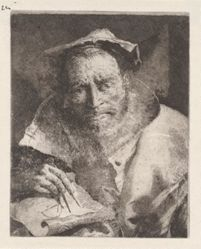 The Mathematician, from the Raccolta di Teste (Collection of Heads)