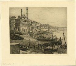 The Minarettes, Benares