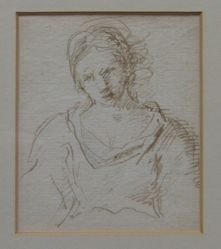 Study of a Woman, bust length (formerly Portraits of women)