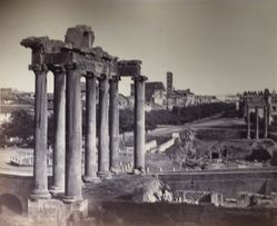 Untitled (View of the Roman Forum)