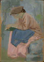 A Woman Reading - Provencal Study