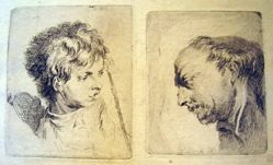 Head of a Boy and Head of a Man