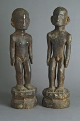 Pair of Ancestor Figures