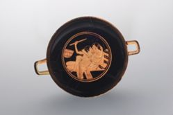 Kylix with a Symposion Scene