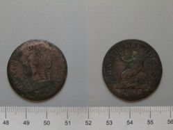 Half Penny from Upper Canada