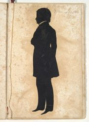 Silhouette of Augustus Williams