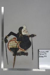 Shadow Puppet (Wayang Kulit) of Semar, from the set Kyai Drajat