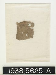Textile, linen rep cloth fragment