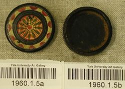 Snuff box and lid