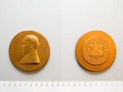Bronze Medal of Ogden L. Mills, reproduction of 1932