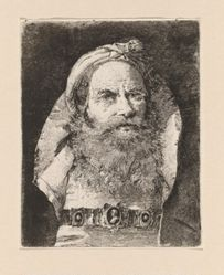 Old Man with Small Turban, from the Raccolta di Teste (Collection of Heads)