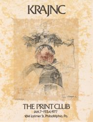 Krajnc, The Print Club, Jan.7–Feb.4 1977