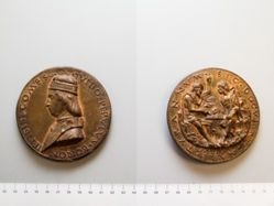 """Medal titled """"Conte Guido Pepoli"""""""