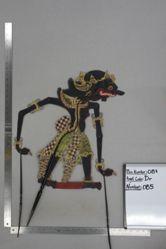 Shadow Puppet (Wayang Kulit) of Macan Anggelun, from the set Kyai Drajat