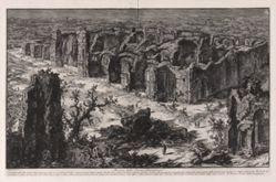 Rovine delle Terme Antoniniane (Ruins of the Antonine Baths [Baths of Caracalla]), from Vedute di Roma (Views of Rome)