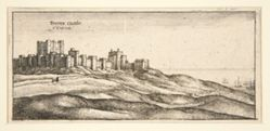 Dover Castle, West Side, from the series Divers Views after the Life