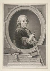 Portrait of François Boucher