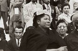 Harry Belafonte and Mahalia Jackson, from the series Prayer Pilgrimage for Freedom