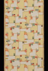 "Wallpaper,  ""Mountville"" pattern"