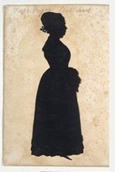Silhouette of Mrs. Major Williams