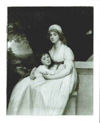 Mrs Norton Pitt and Her Daughter
