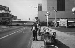 Vermont Avenue & Wilshire Boulevard, from the series Public Transit Areas (#11)