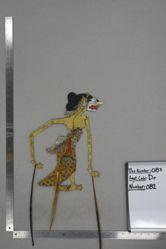 Shadow Puppet (Wayang Kulit) of Embar Raksasa, from the set Kyai Drajat