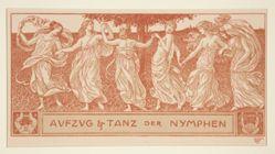 Aufzug und Tanz der Nymphen (Procession and dance of the nymphs)