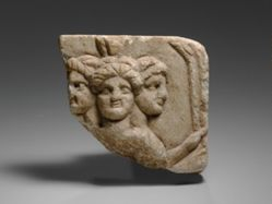 Relief fragment of Hekate