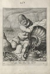 Phlegmaticus (Water), plate 4 of 4 prints from the series The Four Temperaments