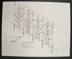 Sketches and Renderings of Railing