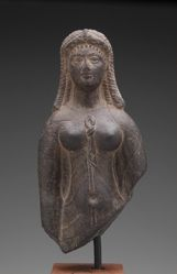 Late Ptolemaic Queen in the Guise of the Goddess Isis
