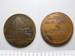 Bronze Medal of New York Athletic Club 1868-1927