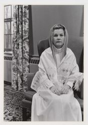 Untitled (Woman in White with Shawl), from Joyce Baronio portfolio