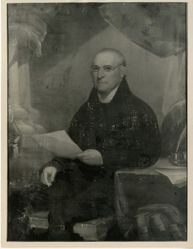 Timothy Dwight (1752 - 1817) BA 1769, MA 1772 (copy after Ralph Earl)