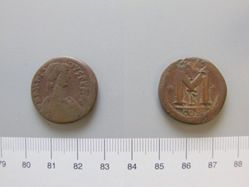 Small follis (40-nummi) of Anastasius