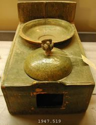 Model of a stove
