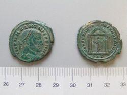 1 Nummus of Maxentius, Caesar 306 307, Augustus 307 312 from Carthage