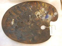 Palette of John Ferguson Weir