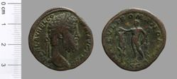 Sestertius of Commodus, Emperor of Rome from Rome